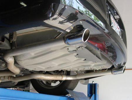 Dodge Magnum - Exhaust Experiments