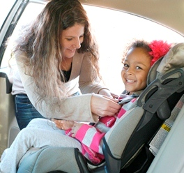 Car Safety Seat Installation